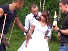 Russian bride luvs an bi-racial group-poke out of pocket